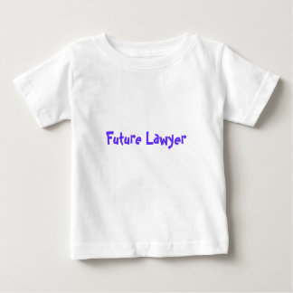 Future Lawyer Just Like Daddy Baby T-Shirt