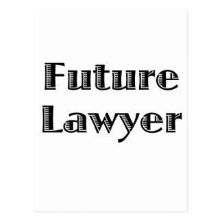 Future Lawyer Post Card