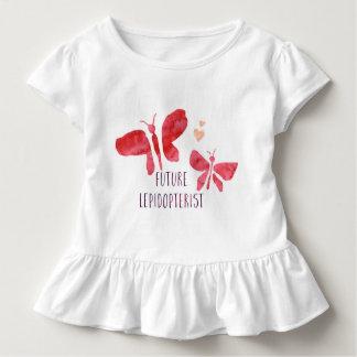 Future Lepidopterist Butterfly Toddler Girls Tee