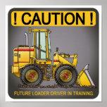Future Loader Driver Poster Print