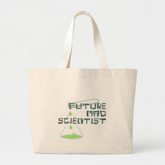 Future Mad Scientist Jumbo Tote Bag