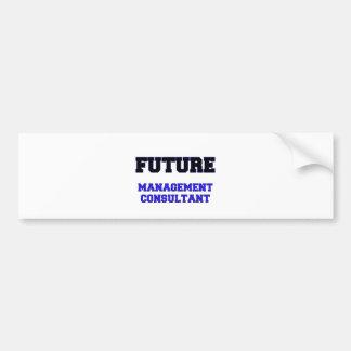 Future Management Consultant Bumper Stickers