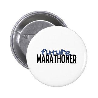 Future Marathoner 6 Cm Round Badge