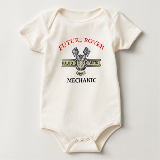 Future Mechanic Baby Bodysuit