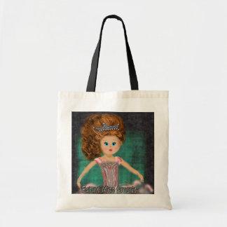 Future Miss America design Budget Tote Bag