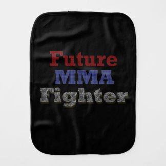 Future MMA Fighter burp cloth