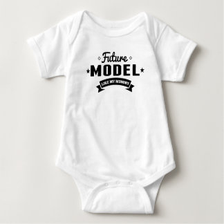 Future Model Like My Mommy Baby Bodysuit