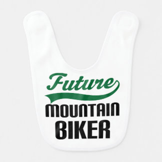 Future Mountain Biker Baby Bib