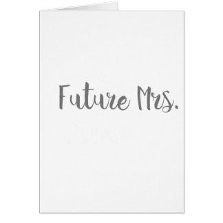 Future Mrs. Apparel Card