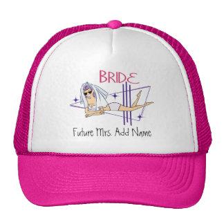 Future Mrs. Beach Bride Trucker Hats