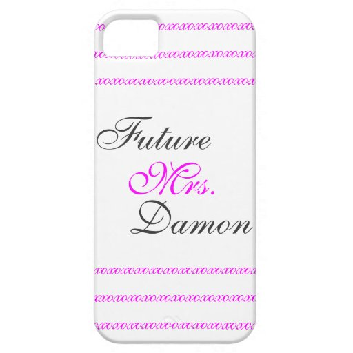 Future Mrs. Damon iPhone 5 Cover