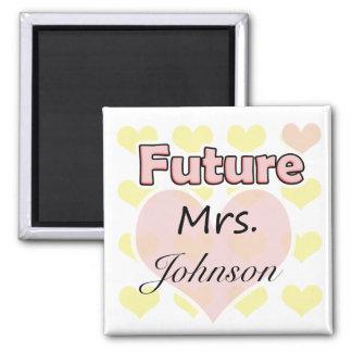 Future Mrs. Refrigerator Magnets