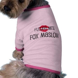 Future Mrs. Maslow Dog Shirt! Ringer Dog Shirt