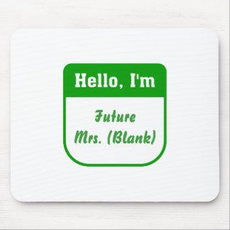 Future Mrs Mousepad - Personalized