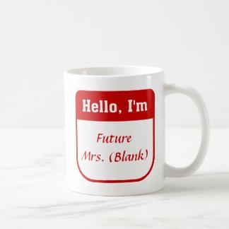 Future Mrs. Mug - Personalized