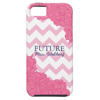 Future Mrs. Peonies and Chevron iPhone 5 Cases