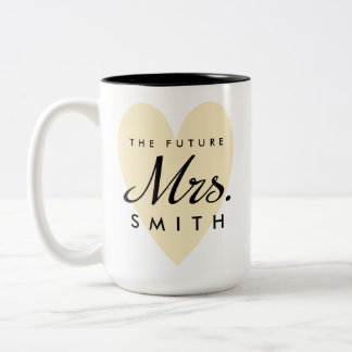Future Mrs. Two-Tone Coffee Mug