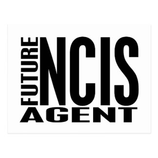Future NCIS Agent Postcard