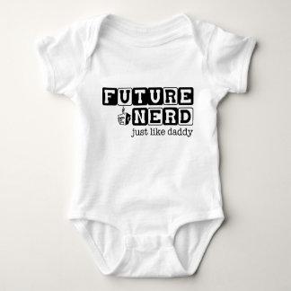 Future nerd..just like daddy tees