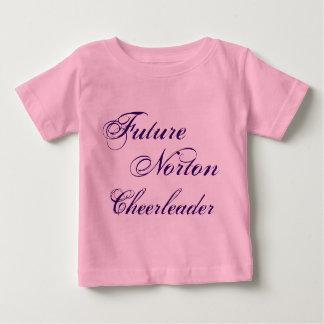 Future Norton Cheerleader Baby Shirt