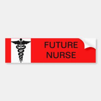 Future Nurse Bumper Sticker