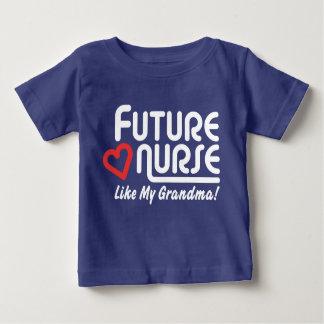 Future Nurse Like My Grandma Baby T-Shirt