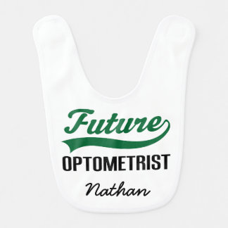 Future Optometrist Personalized Baby Bib