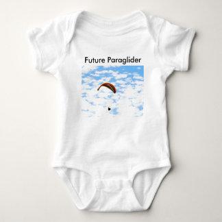 Future Paraglider Baby Bodysuit