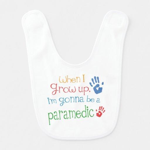 Future Paramedic Baby Bib