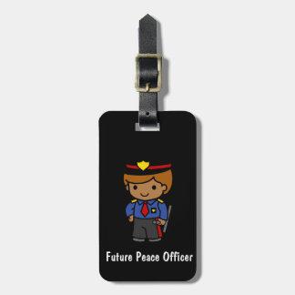 Future Peace Office Luggage Tag