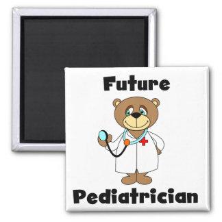 Future Pediatrician Square Magnet