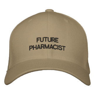 FUTURE PHARMACIST EMBROIDERED HAT