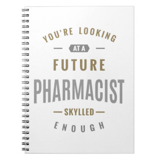 Future Pharmacist Gift ideas Spiral Notebook