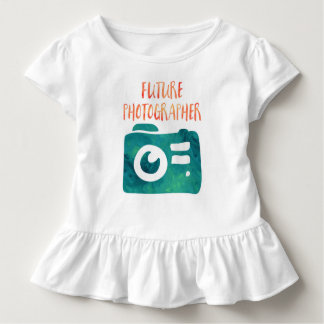 Future Photographer Toddler Girl T Shirt