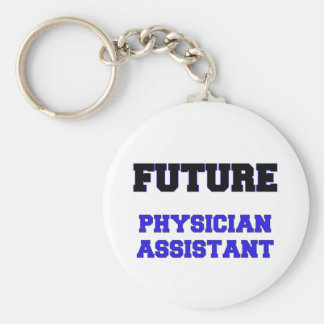 Future Physician Assistant Basic Round Button Key Ring