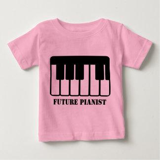 Future Pianist Baby T-shirt