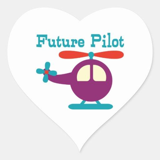 Future Pilot Sticker
