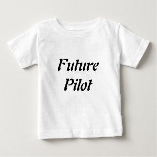 Future Pilot Toddler Children Science Tshirt