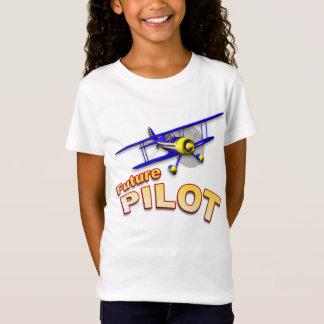 FUTURE PILOT with Blue Biplane T-Shirt