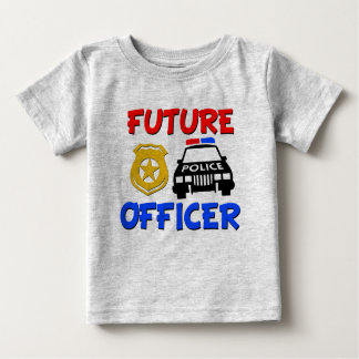Future Police Officer funny baby shirt