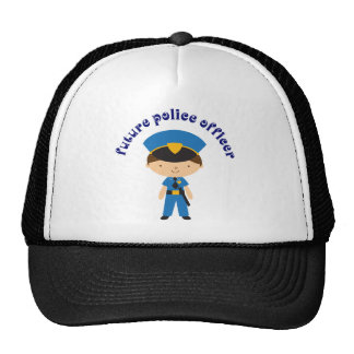 Future Police Officer Mesh Hat