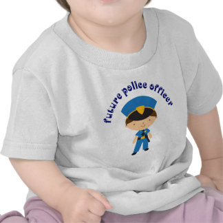 Future Police Officer T Shirts