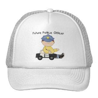 Future Police Officer Tshirts and Gifts Mesh Hats