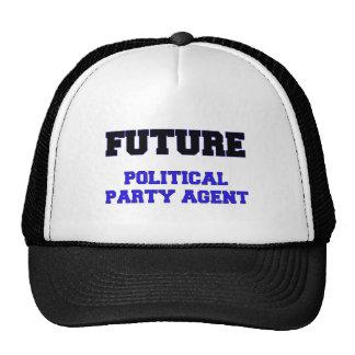 Future Political Party Agent Hats