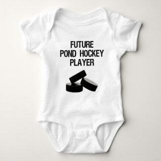 'Future Pond Hockey Player' Infant Baby Bodysuit