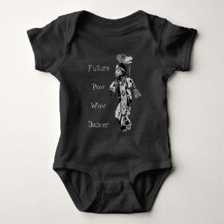 Future Pow Wow Dancer Baby Bodysuit