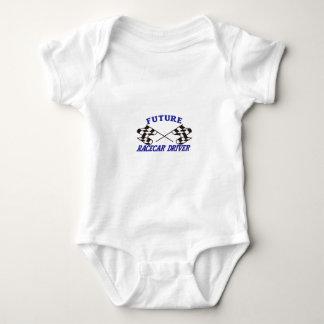 Future Racecar Driver Baby Bodysuit
