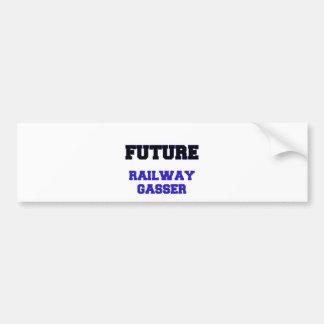 Future Railway Gasser Bumper Sticker