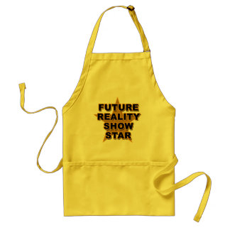 Future Reality Show Star T-shirts, Gifts Adult Apron