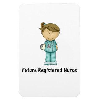 future registered nurse rectangular photo magnet
